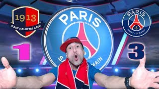 Caen 1-3 psg - on est en finale!!! - azéd stories -