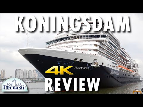 Koningsdam Tour & Review ~ Holland America Line ~ Cruise Ship Tour & Review [4K Ultra HD]