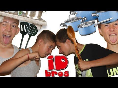 ID Bros. Илья и Дэн. Muffin & Cappucino в домашних условиях. Стерли флэшку.