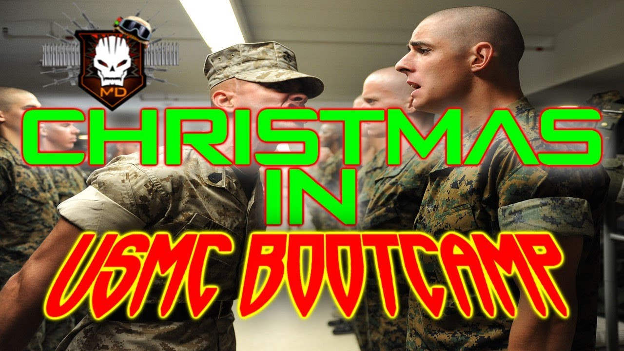 Marine Corps Stories #1 - Christmas at Marine Boot Camp! - Merry ...