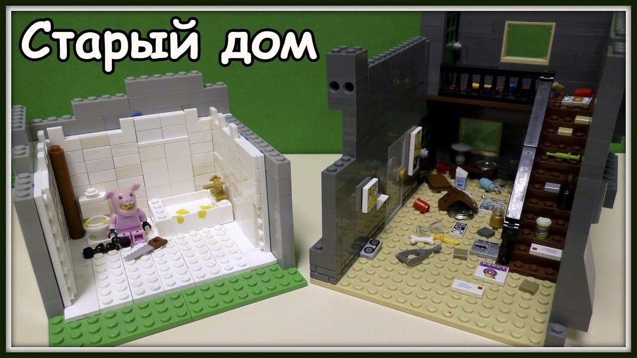 Лего Майнкрафт Горная пещера 21137 Видео обзор LEGO Minecraft 2017 .