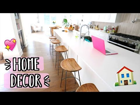 New Home Decor / Furniture!! Anthropologie, West Elm, and More! AlishaMarieVlogs