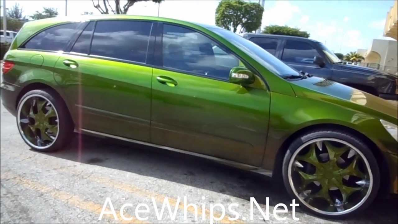 Acewhips Net Wtw Customs Candy Green Mercedes Benz R350