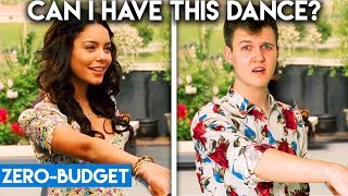 HIGH SCHOOL MUSICAL WITH ZERO BUDGET! (Can I Have This Dance PARODY)
