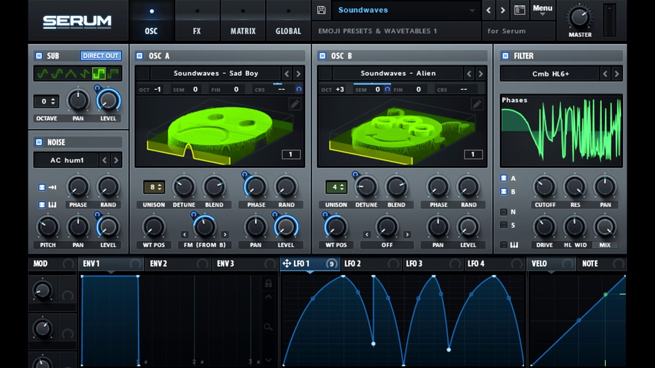 Soundwaves - Emoji Presets & Wavetables for Serum FREE SERUM PRESETS