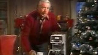 "Mr. Coffee with Joe DiMaggio - ""The Delicious Way to Say Merry Christmas"" (Commercial, 1977)"
