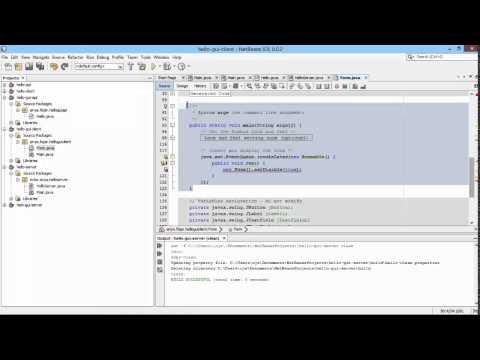 Membuat Aplikasi Jaringan Dengan Java