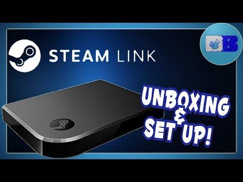 hook up steam link