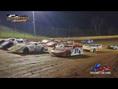#66 Deke Waters - UCRA Crate - 10-20-17 Crossville Speedway - In Car Camera
