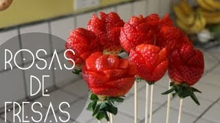 ROSAS DE FRESAS! (San Valentin) Thumbnail