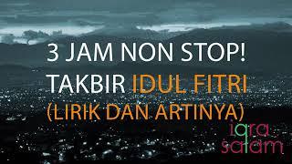 4 5 Mb Download Lagu Takbir Idul Fitri Terbaik Non Stop 3 Jam