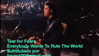 Tears for Fears - «Everybody Want to Rule the World» Subtitulado en español -
