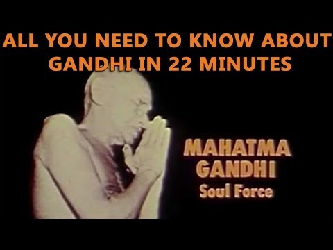 Mahatma Gandhi - Soul Force