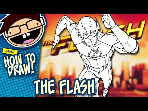 How to Draw THE FLASH (The CW TV Series) | Narrated Easy Step-by-Step Tutorial