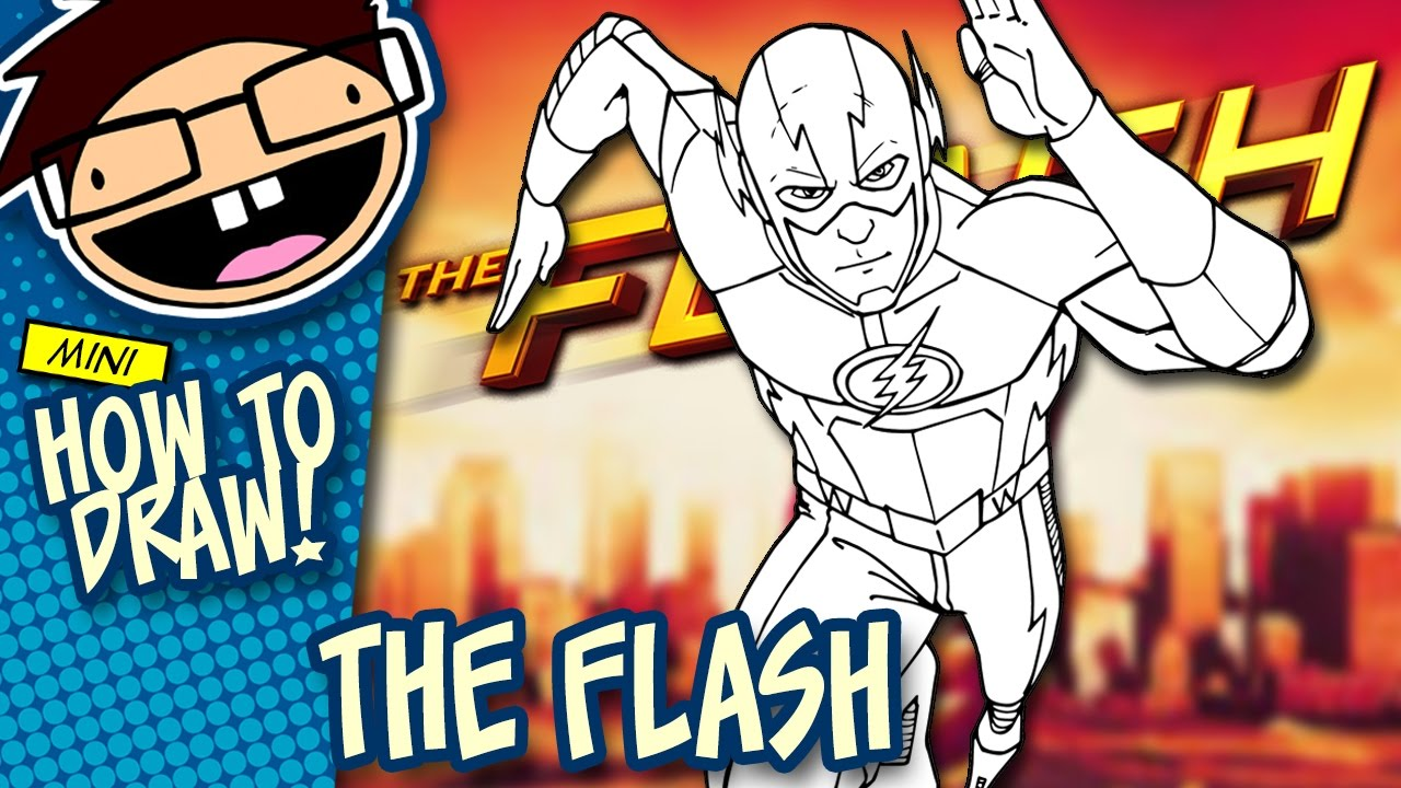 How to draw black flash | awesome step-by-step tutorial youtube.