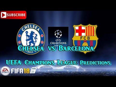 Chelsea vs Barcelona   UEFA Champions League   Predictions FIFA 18