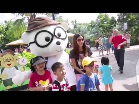 childrens festival 2016 at gardens by the bay