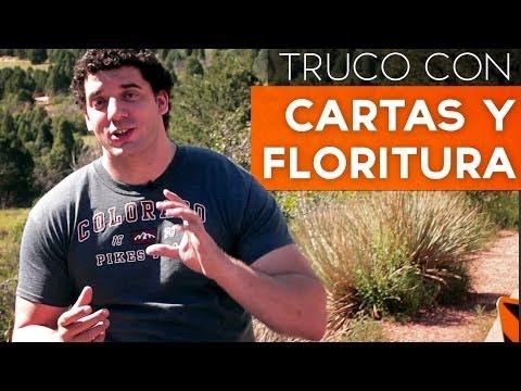 Trucos de magia con cartas y florituras, trucos revelados en español para aprender y faciles