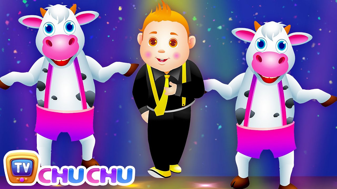 Head Shoulders Knees and Toes Nursery ChuChu Tv Rhymes