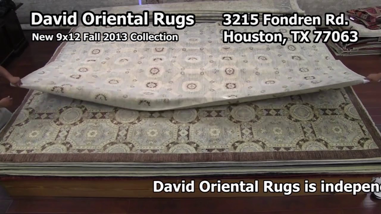 David Oriental Rugs Houston 9x12