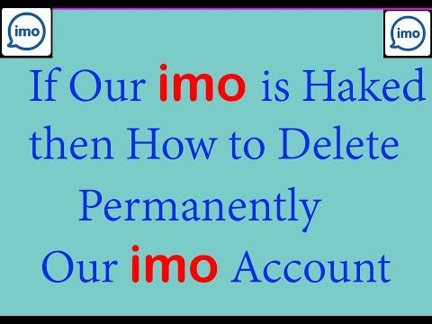 How to Delete imo Account || 2019