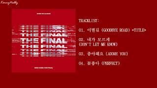 ... [ep] ikon – new kids : the final release date: 2018.10.01 genre: ballad, dance language: korean track list: 01...