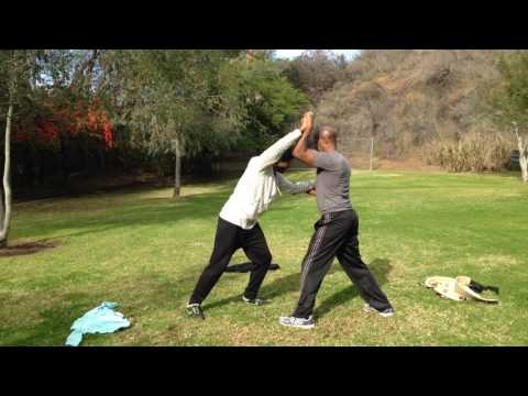 Freestyle Moving Step Push Hands - Sports Tai Chi Off-Season with Jan & Jan