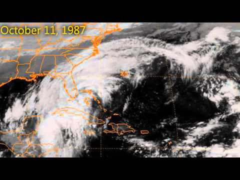 Great Storm of 1987  Satellite ry