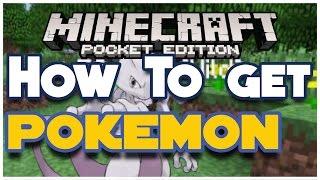 How to get Pokemon MCPE! - Minecraft PE (Pocket Edition)