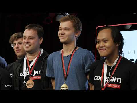 Welcome to the Code Jam 2019 World Finals