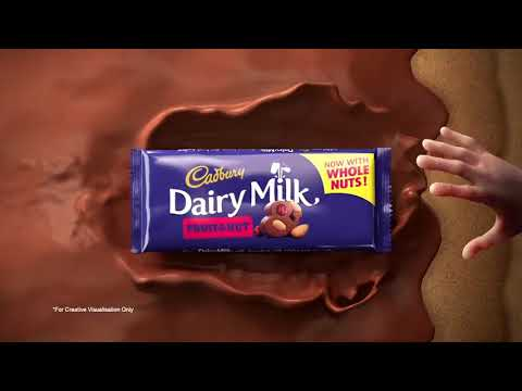 Cadbury Dairy Milk, Now With Whole Nuts!