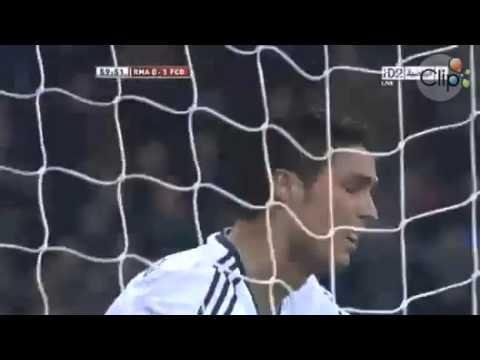 Pha bỏ lỡ ngớ ngẩn của CR7 Real Madrid v Barca