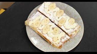 Пирожное «Мильфей с бананами» | Зощенко. Сладкие рассказы