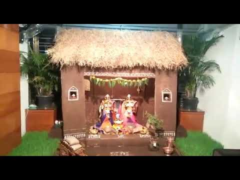 Mahalaxmi / Gauri,ganapati Decoration , Hut / zopdi