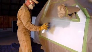 How to use Spray Cans to touch up car paint scratches like a pro!