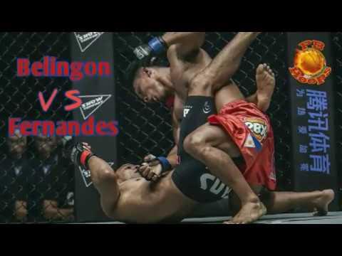 Kevin Belingon vs Bibiano Fernandes (Rematch) | Full Fight