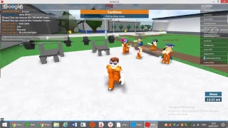 Roblox playing in prison life WITH MY FRIEND MIU
