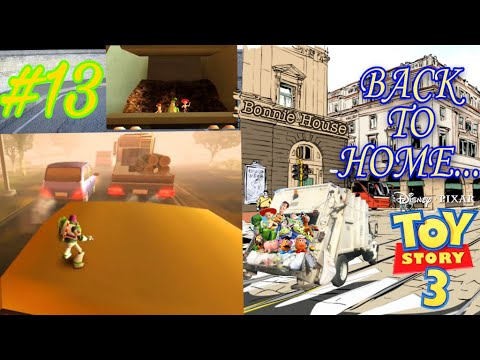 END OF TOY STORY 3 ALL TOY ARE BACK TO HOME | TOY STORY 3 GAMEPLAY PART 13 | BACK TO BONNIE'S HOUSE |