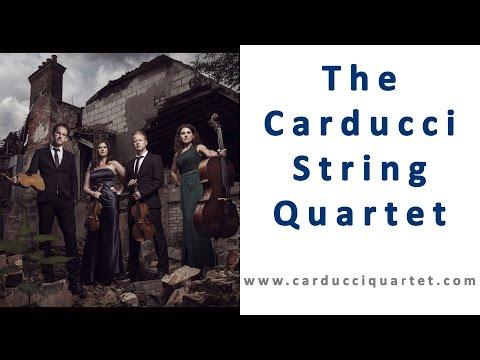Shostakovitch  String quartet no8  in C minor The Carducci Quartet play Shostakovich