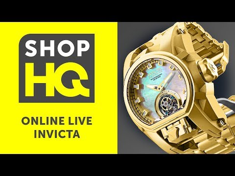 Shop HQ Online Live: Invicta 02.12 With Blair Christie And Ryan Johnson