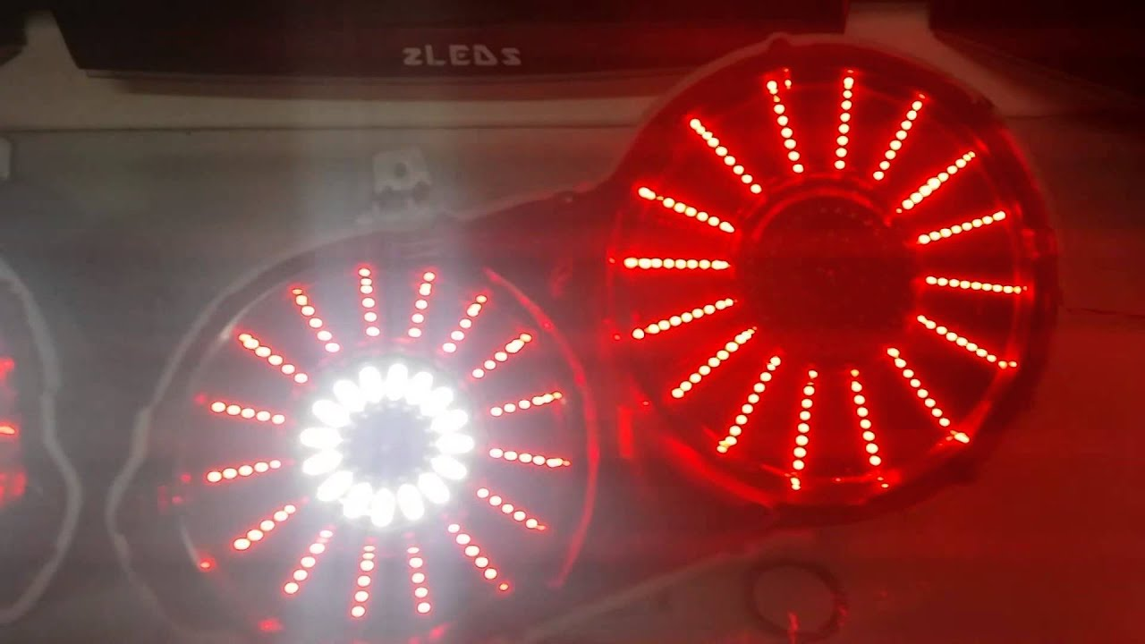 nissan r35 gtr led tail light i a by zleds youtube. Black Bedroom Furniture Sets. Home Design Ideas