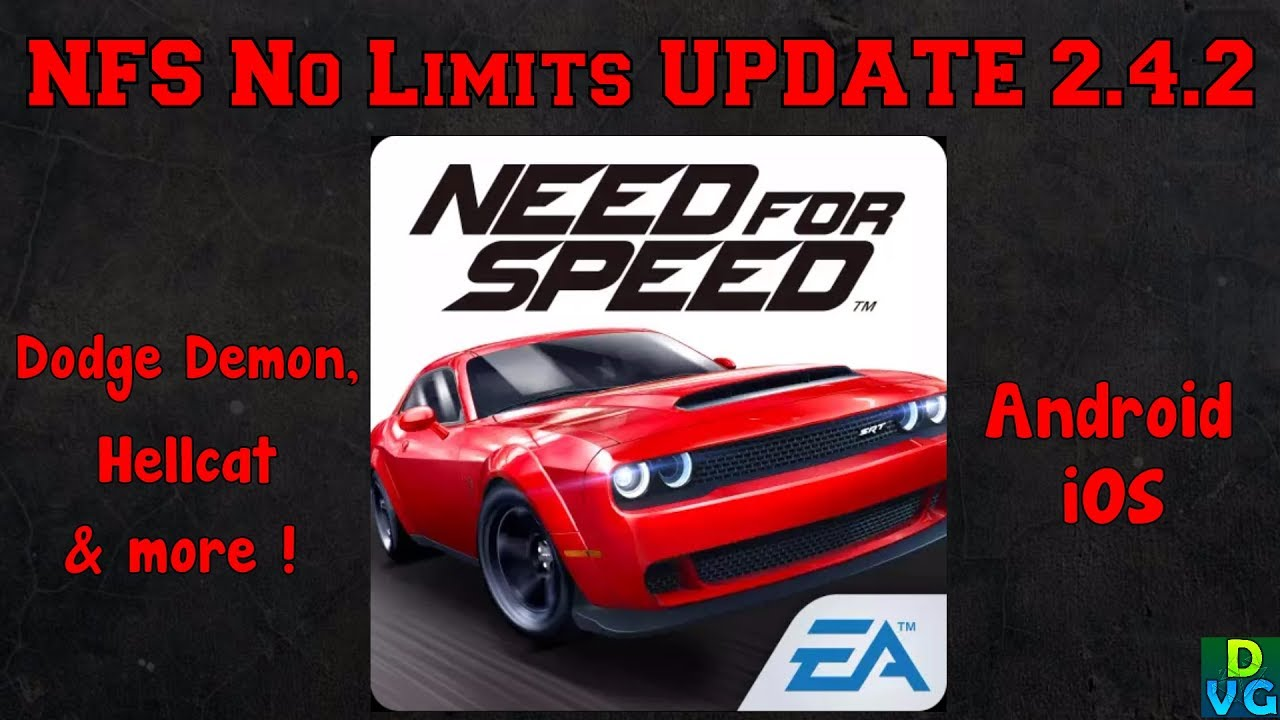 Nfs No Limits New Update V2 4 2 Dodge Challenger Demon