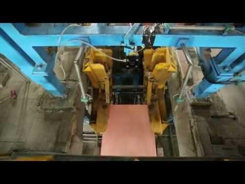 Cathode stripping machine