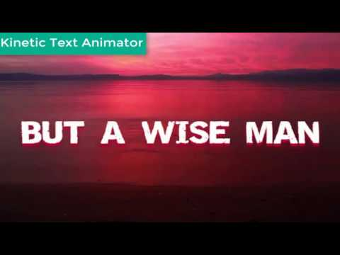 kinetic text animator - kinetic typography - text ...
