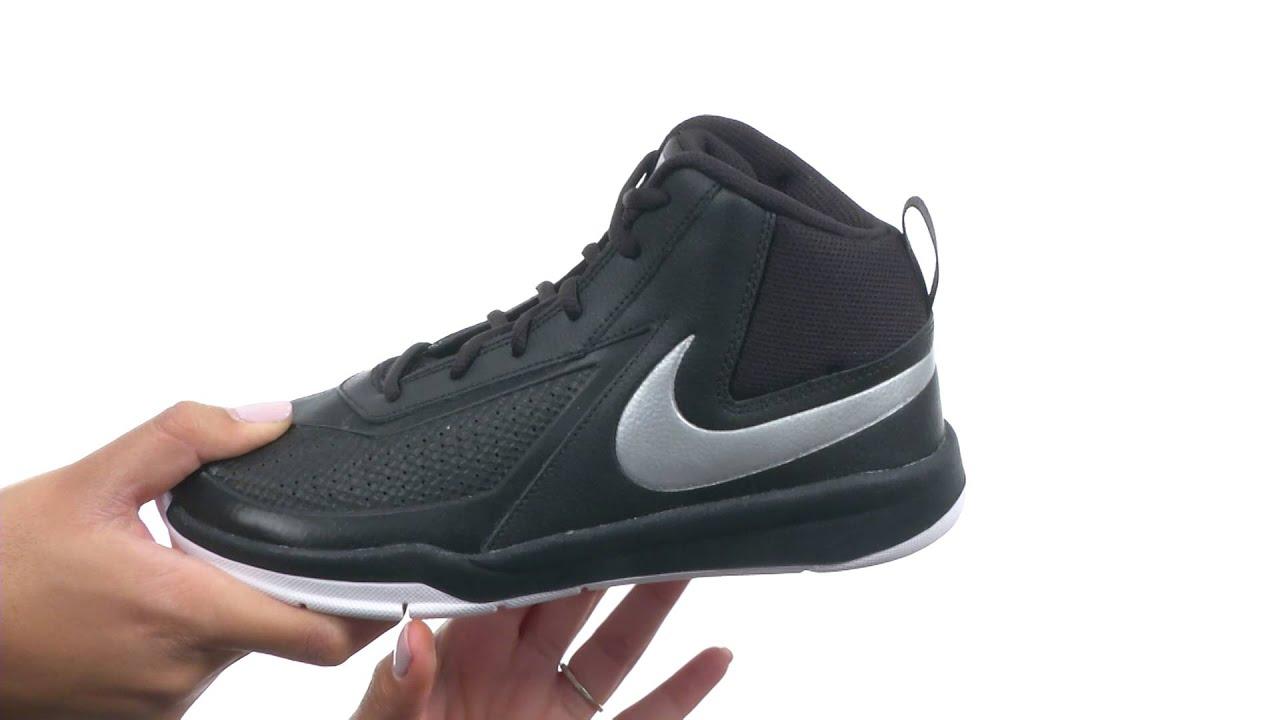 97f4698270 Nike Kids Team Hustle D 7 (Big Kid)SKU:8543549 - YouTube