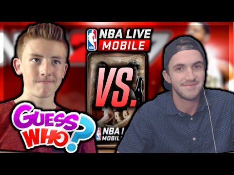 NBA LIVE MOBILE 4x CAMPUS LEGEND PACK GUESS WHO VS. BOBBY BUCKETS! WINNER GIVES AWAY MILLION'S COINS
