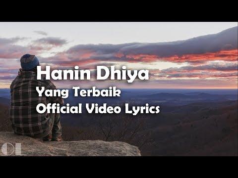 Hanin Dhiya - Yang Terbaik Lyrics