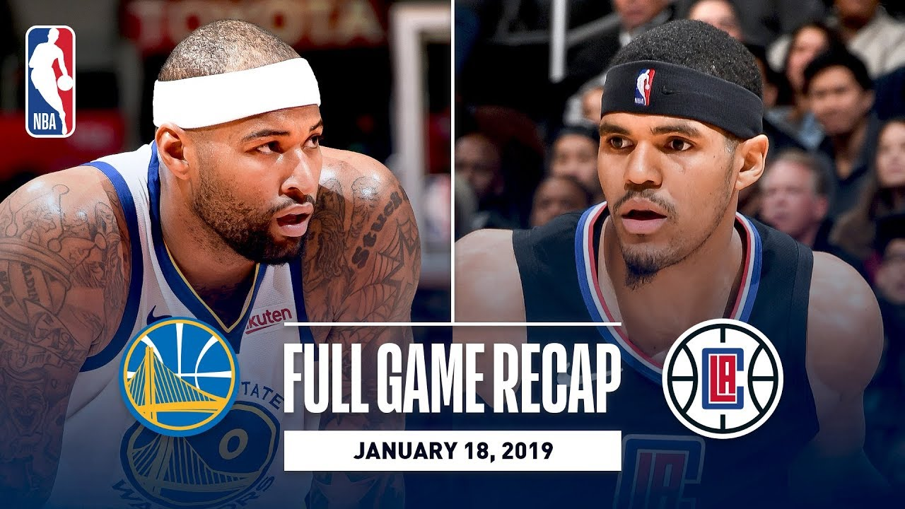 full-game-recap-warriors-vs-clippers-demarcus-cousins-first-game-with-golden-state