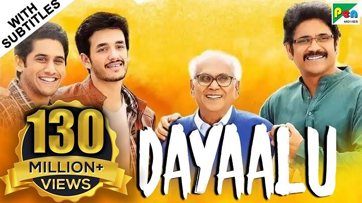 dayaalu hd new hindi dubbed movie  nagarjuna akkineni naga chaitanya samantha akkineni
