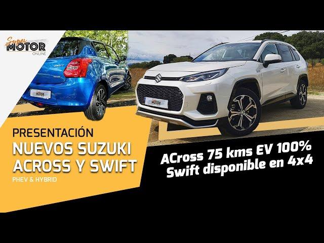 Probamos el nuevo Suzuki Across y Swift Hybrid 2020 / Toma de Contacto / SuperMotor.Online